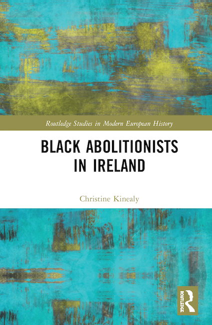 Book cover of Black Abolitionists in Ireland